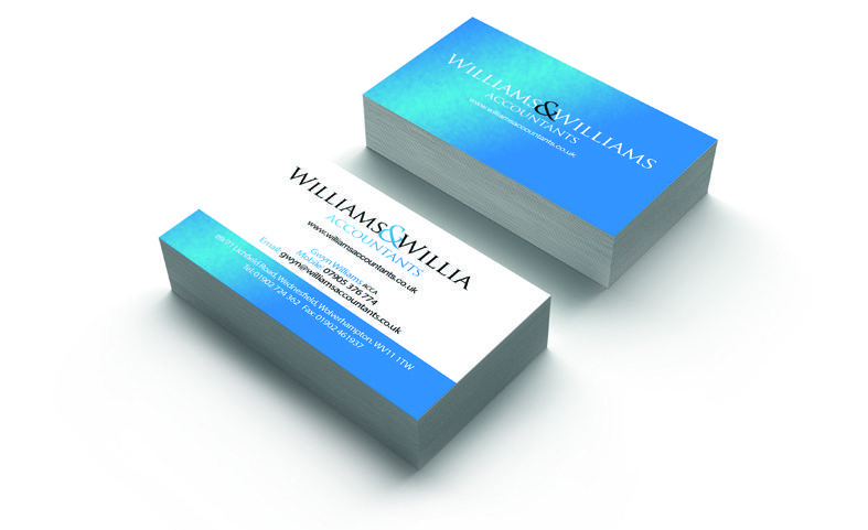willaims business card