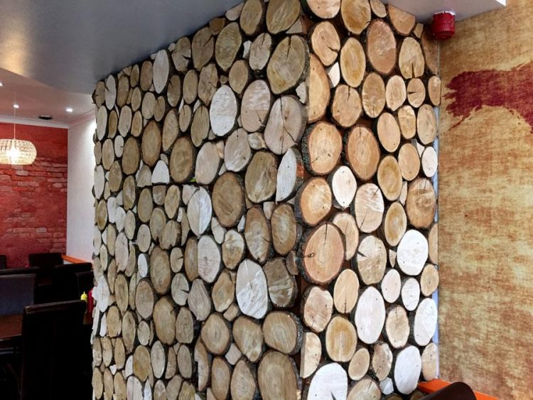 Wooden-feature-wall